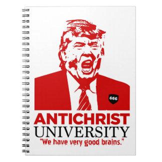 ANTICHRIST UNIVERSITY Trump Notebook