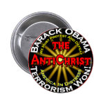 AntiChristObamaDefeat Pinback Buttons