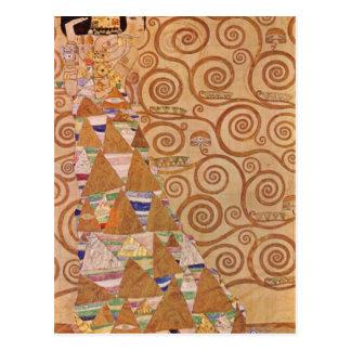 Anticipación de Gustavo Klimt Tarjeta Postal