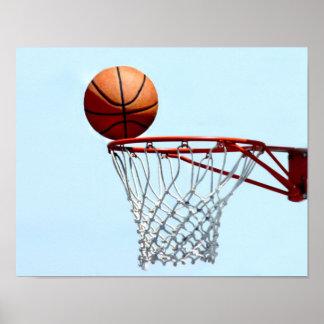 Anticipación del baloncesto póster