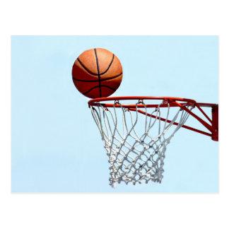 Anticipación del baloncesto postales