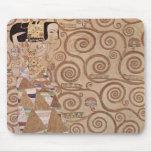 Anticipación del ~ de Klimt Alfombrilla De Ratones