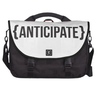 Anticipate - Bracketed - Black and White Commuter Bags