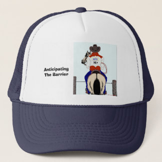 Anticipating the Barrier Trucker Hat