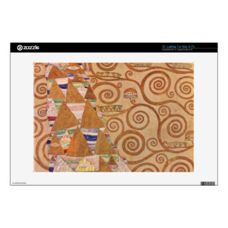 Anticipation by Gustav Klimt Decals For Laptops