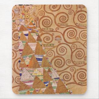 Anticipation by Gustav Klimt Mouse Pads