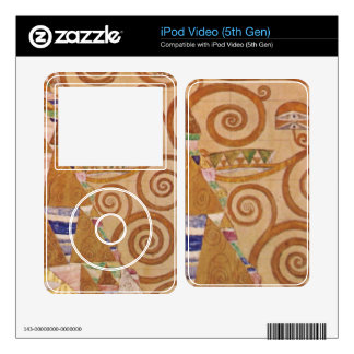 Anticipation by Gustav Klimt iPod Video 5G Skin