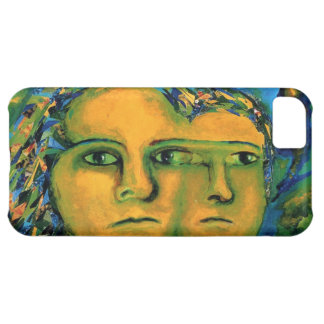 Anticipation - Gold and Emerald Goddess iPhone 5C Cover
