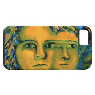 Anticipation - Gold and Emerald Goddess iPhone 5 Case
