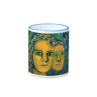 Anticipation - Gold and Emerald Goddess Mug