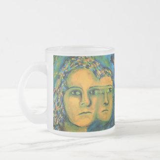 Anticipation - Gold and Emerald Goddess Mugs