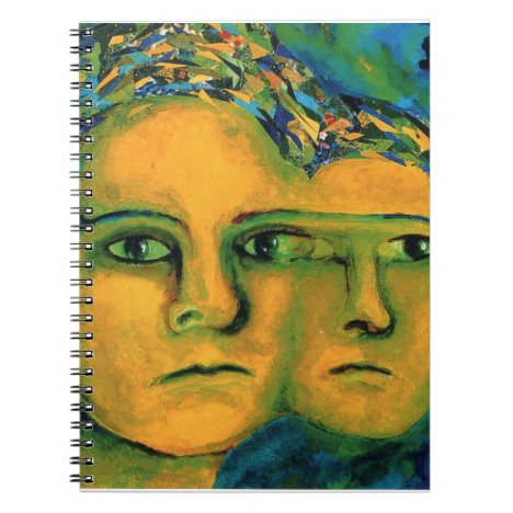 Anticipation - Gold and Emerald Goddess Notebook