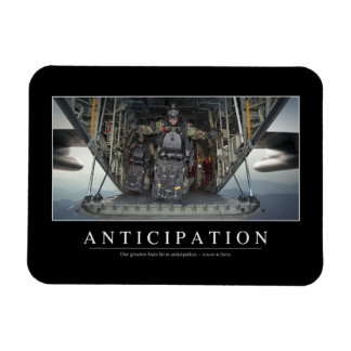 Anticipation: Inspirational Quote Magnet