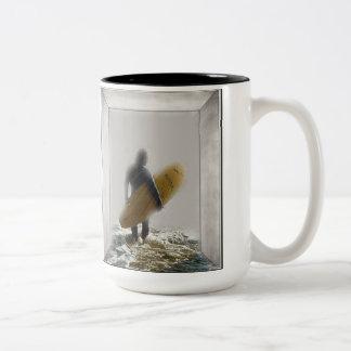 Anticipation Two-Tone Coffee Mug