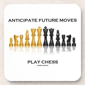 Anticipe el ajedrez futuro del juego de los posavaso
