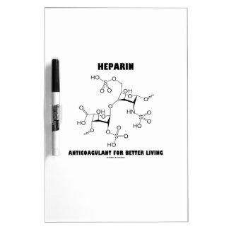 Anticoagulante de la heparina para una mejor vida pizarras