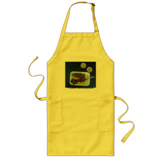 Anticuchos - Comida de Peru with changeable text Long Apron