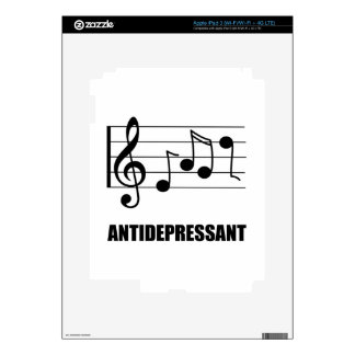 Antidepressant Music Decals For iPad 3