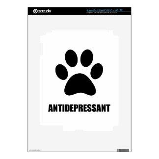 Antidepressant Pet iPad 3 Decal