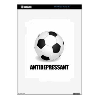 Antidepressant Soccer iPad 2 Decals