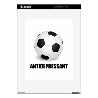Antidepressant Soccer Skins For iPad