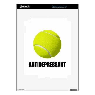 Antidepressant Tennis Decals For The iPad 2