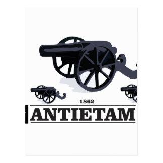 Antietam battle postcard