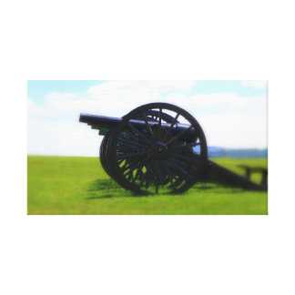 Antietam Cannons wrapped canvas Canvas Print