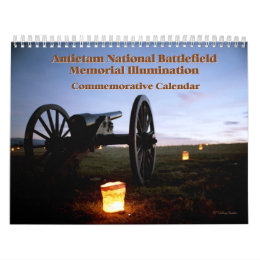 Antietam Illumination 18-month Calendar