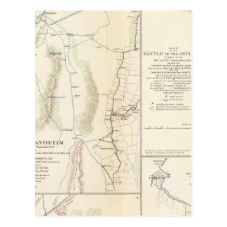 Antietam, Suffolk, Gettysburg Postcard