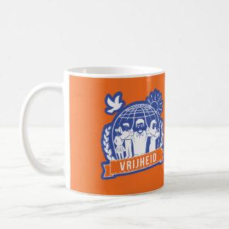 ANTIGLOBALISME VRIJHEID/FREEDOM - NEDERLAND COFFEE MUG