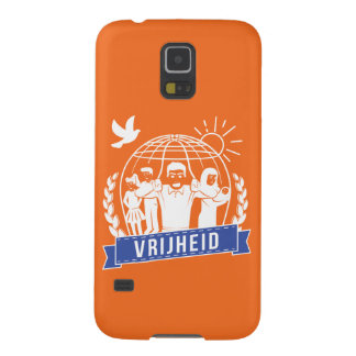 ANTIGLOBALISME VRIJHEID/FREEDOM - NEDERLAND GALAXY S5 CASE