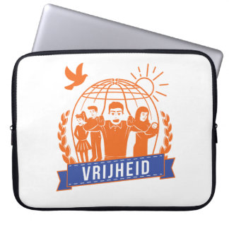 ANTIGLOBALISME VRIJHEID/FREEDOM - NEDERLAND LAPTOP SLEEVE