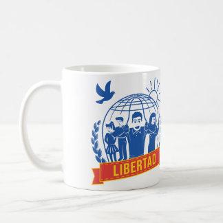 ANTIGLOBALIZACIÓN LIBERTAD/FREEDOM - ESPAÑA COFFEE MUG