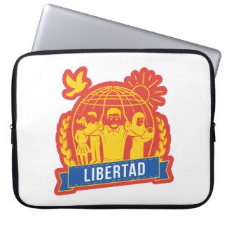 ANTIGLOBALIZACIÓN LIBERTAD/FREEDOM - ESPAÑA COMPUTER SLEEVE