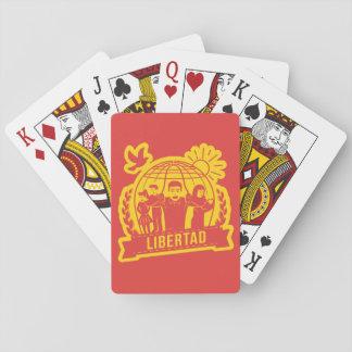 ANTIGLOBALIZACIÓN LIBERTAD/FREEDOM - ESPAÑA PLAYING CARDS