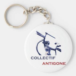 Antigone collective keychain