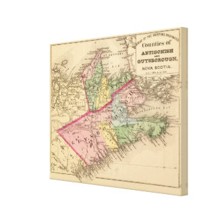 Antigonish, condados de Guysborough, NS Impresión En Lona