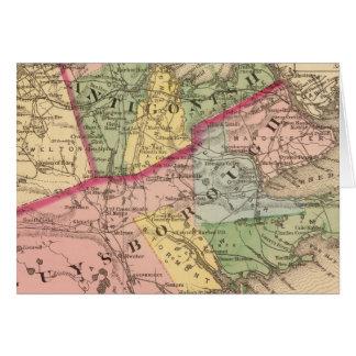 Antigonish, condados de Guysborough, NS Tarjeton