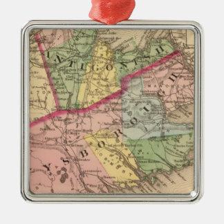 Antigonish, Guysborough counties, NS Metal Ornament