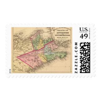 Antigonish, Guysborough counties, NS Postage Stamp