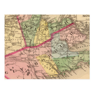 Antigonish, Guysborough counties, NS Postcard