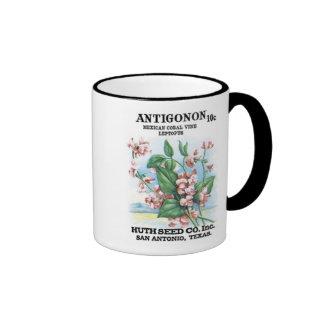 Antigonon Mexican Coral, Huth Seed Co Ringer Mug