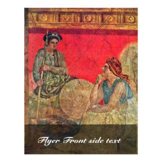 Antigonus And His Mother Detail By Pompejanischer Flyers
