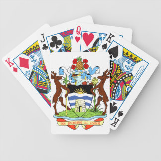 Antigua and Barbados National Seal Bicycle Playing Cards