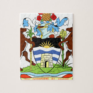 Antigua and Barbados National Seal Jigsaw Puzzle