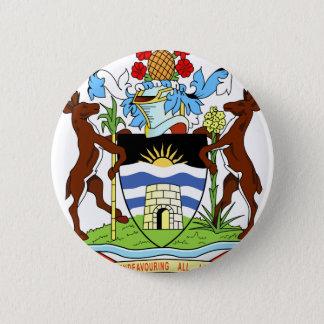 Antigua and Barbados National Seal Pinback Button