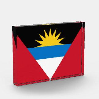 antigua and barbuda acrylic award