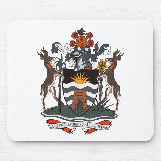 Antigua And Barbuda Coat of Arms Mousepad