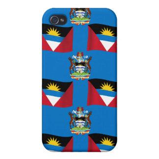 Antigua and Barbuda Crest iPhone 4/4S Case